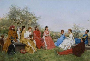 Decamerone. Raffaello Sorbi, 1876.